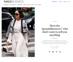 Vogue Business - August 2021