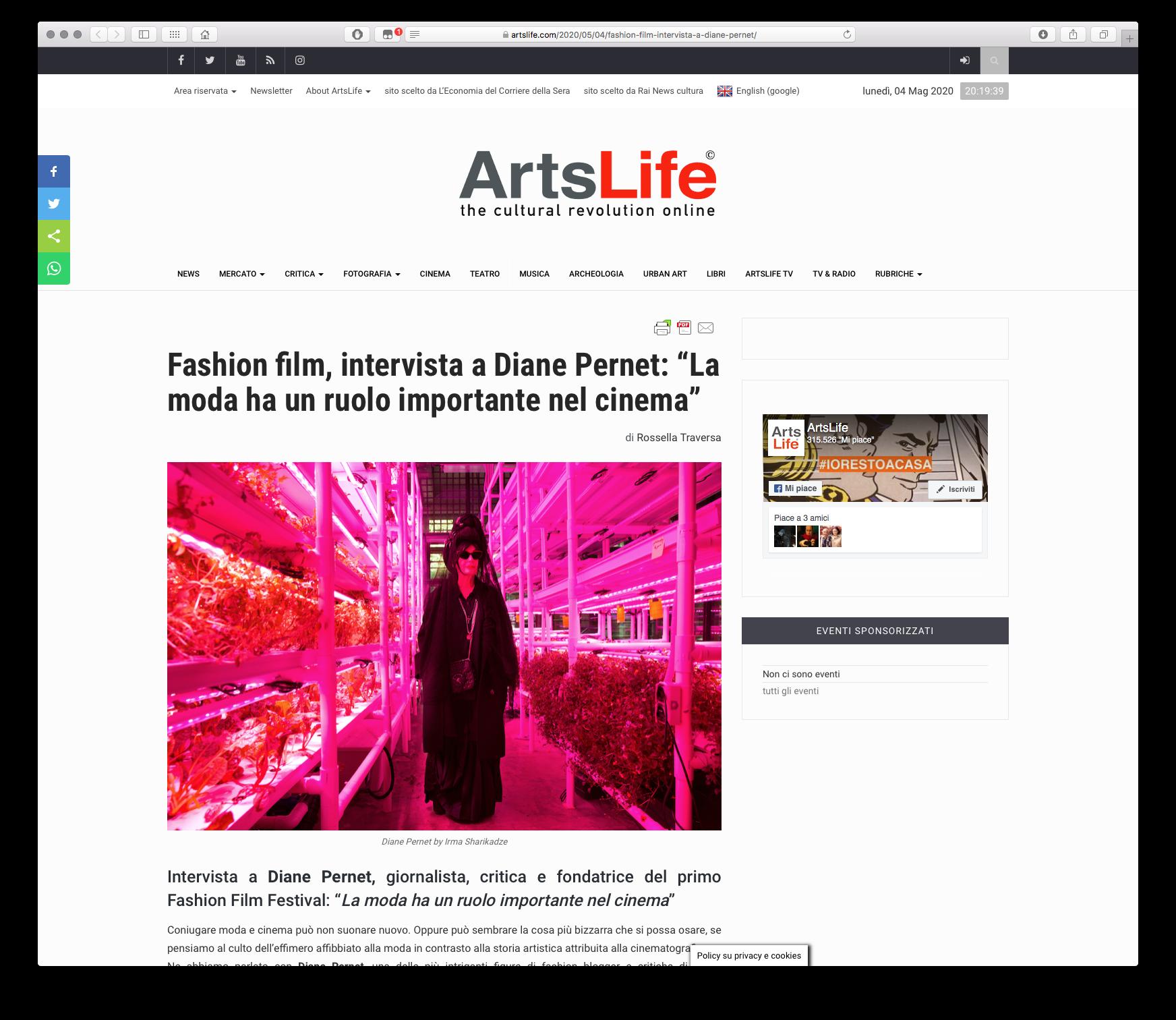 Arts Life 2020-05-04