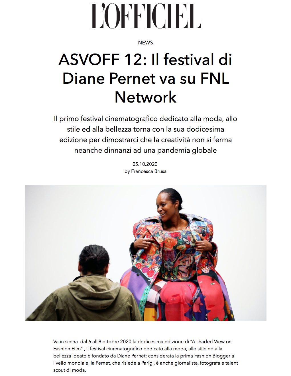 ASVOFF 12 - l'Officiel (Italy)