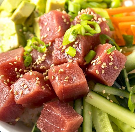 Tuna-Cado Poke