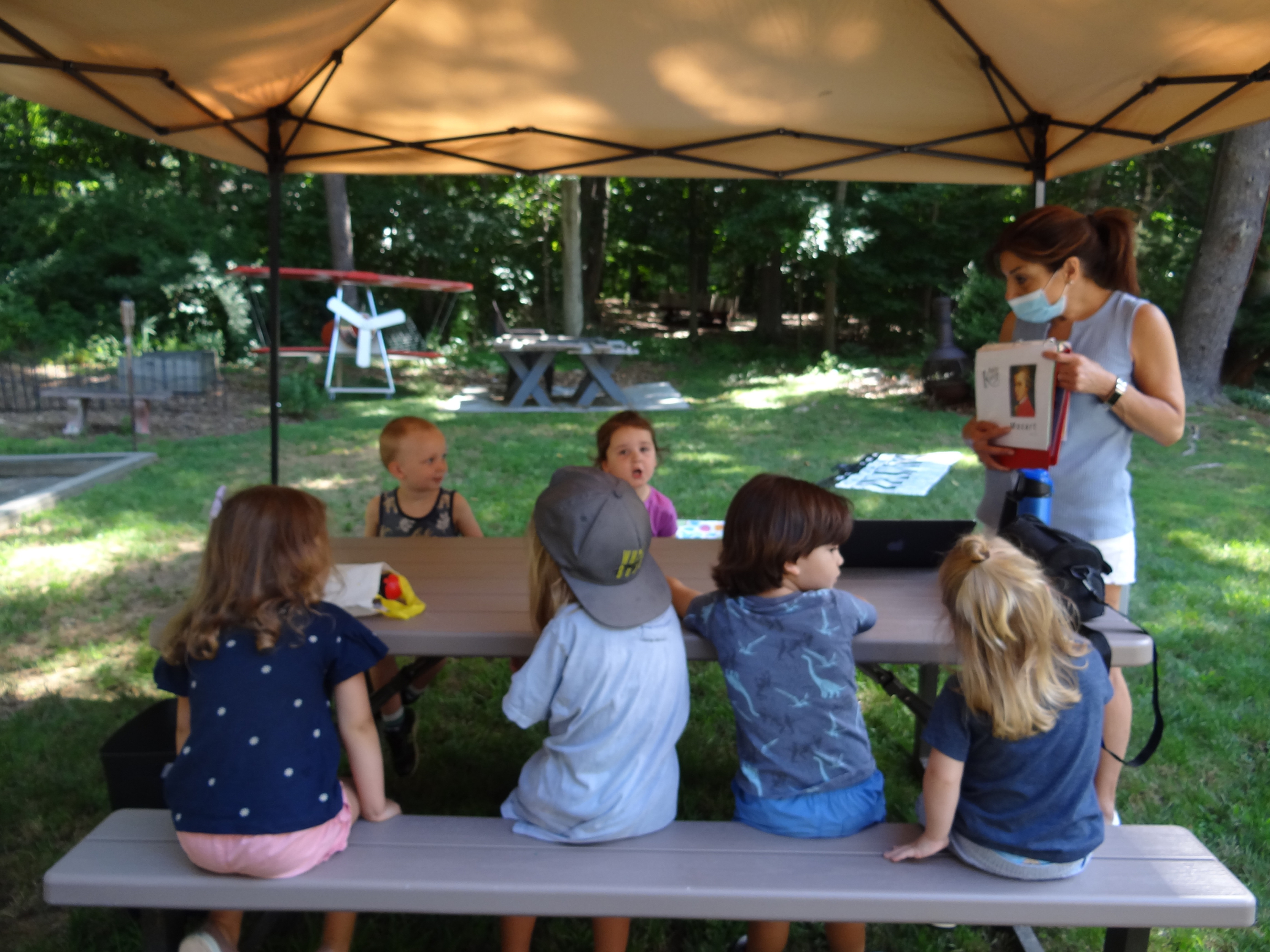 Music Summer Camp  2 1/2-6 years old