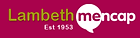 Lambeth Mencap charity logo, London, UK (Programmed perception collaboration)