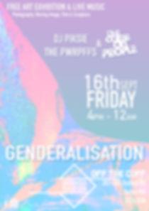Genderalisation exhibition poster - Prgrm2ed Perception (Programmed perception)