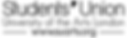 Student Union Arts UAL logo (Programmed perception collaboration)