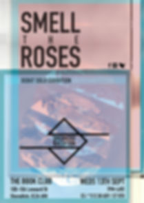 Smell the Roses exhibition poster - Prgrm2ed Perception  (Programmed perception)