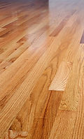 hardwood sanitized by UV lite and steam