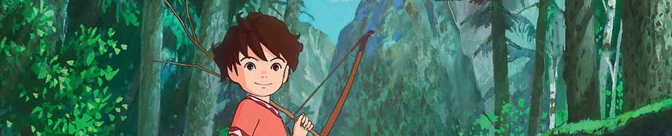 Ronja, the Robber's Daughter(26 x 26') is an epic, Emmy award winning, animated serial from Studio Ghibli