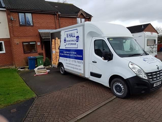 2 van removal from Stafford to Derrington.