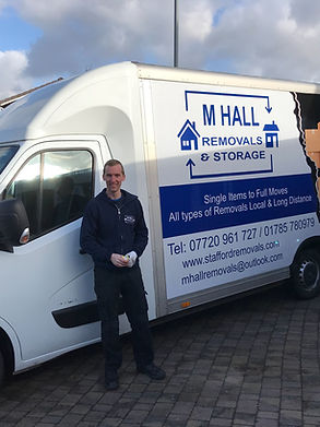 M Hall Removals Stafford