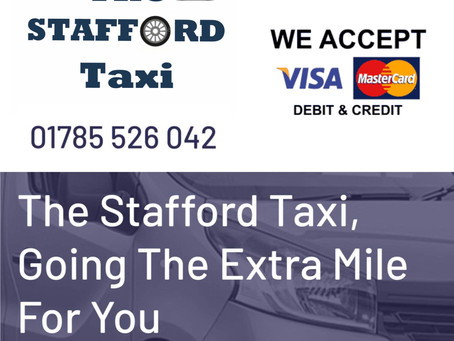 We Are Now The Stafford Taxi