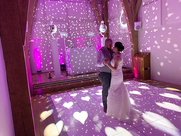 Derbyshire wedding DJ