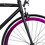 Thumbnail: Fixie Negro Matte y Púrpura Metálico