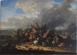 Scena di Battaglia di cavalleria