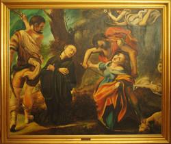 Martirio dei quattro Santi copia dal Correggio