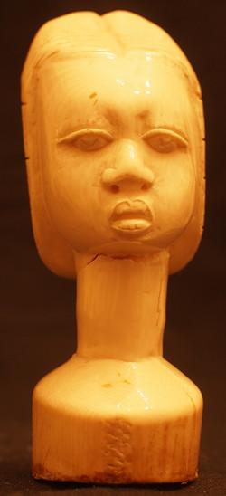Scultura busto di donna