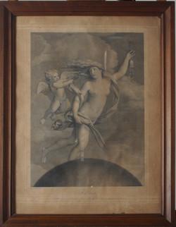 "da un'opera di Guido Reni ""La Fortuna"""