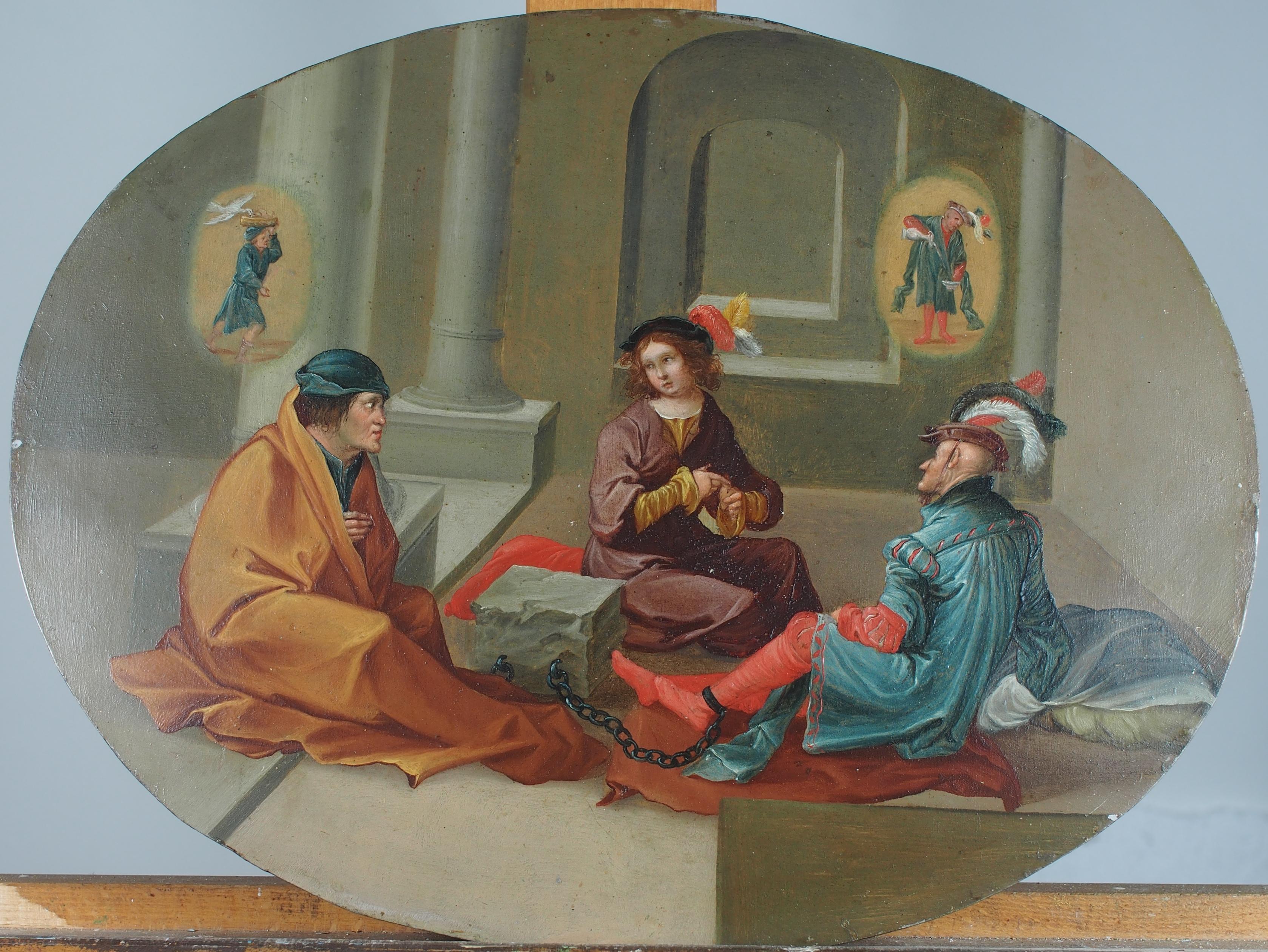Giuseppe racconta il sogno ai prigionieri