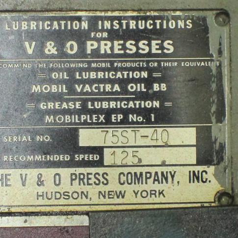 V & O Press