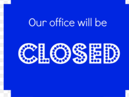 Office Closed 1/4/2018