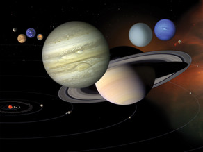 Is there a solar system in the mind's sky?