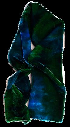 Emerald, Cerulean And Aquamarine Scarf