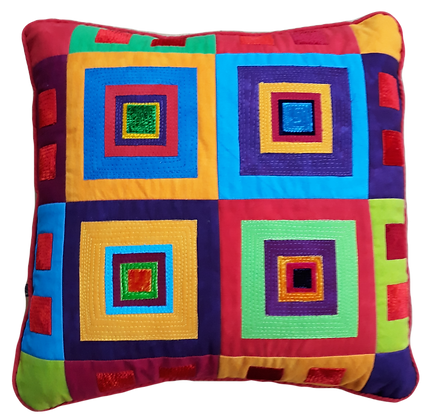 Large squares cushion