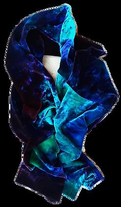 Raspberry Marine Violet And Aqua Marine Wrap 1