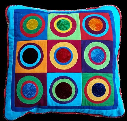 Circles cushion