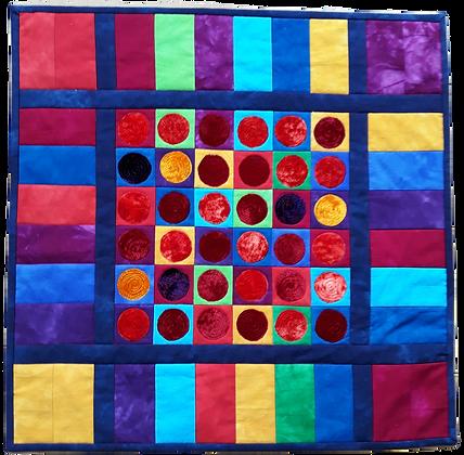 Bright Circles Wallhanging Kit