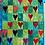 Thumbnail: Green Hearts Wallhanging Kit