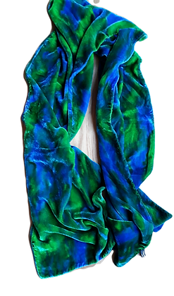 Emerald And Cerulean Wrap