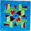 Thumbnail: Green Blue Lovely Hearts Wallhanging Kit