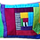 Thumbnail: Hand Dyed Cotton And Silk Velvet Zipped Pouch