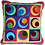Thumbnail: Off centre circles cushion