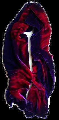 Marine Violet And Magenta Wrap
