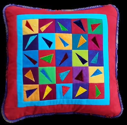 Confetti cushion