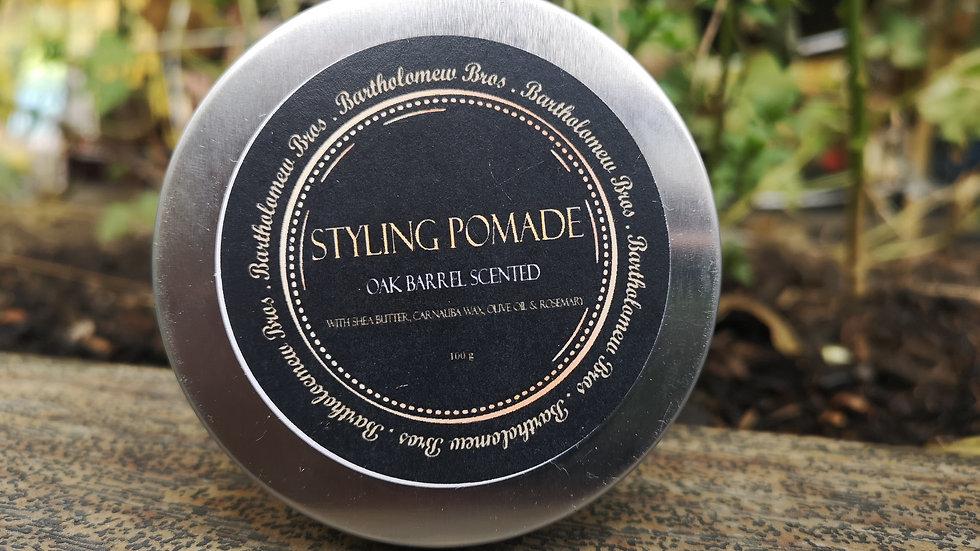 Styling Pomade with Carnauba Wax - 4 oz