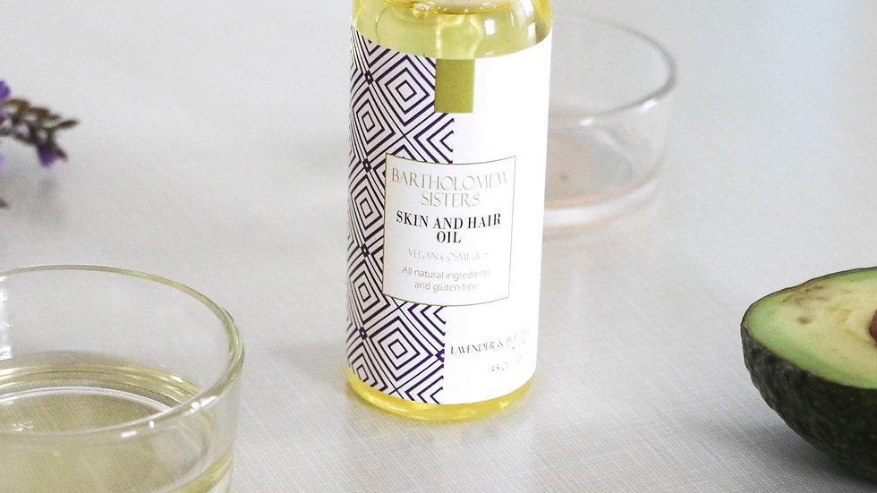 Lavender & Bergamot Grapeseed Oil - 4 oz