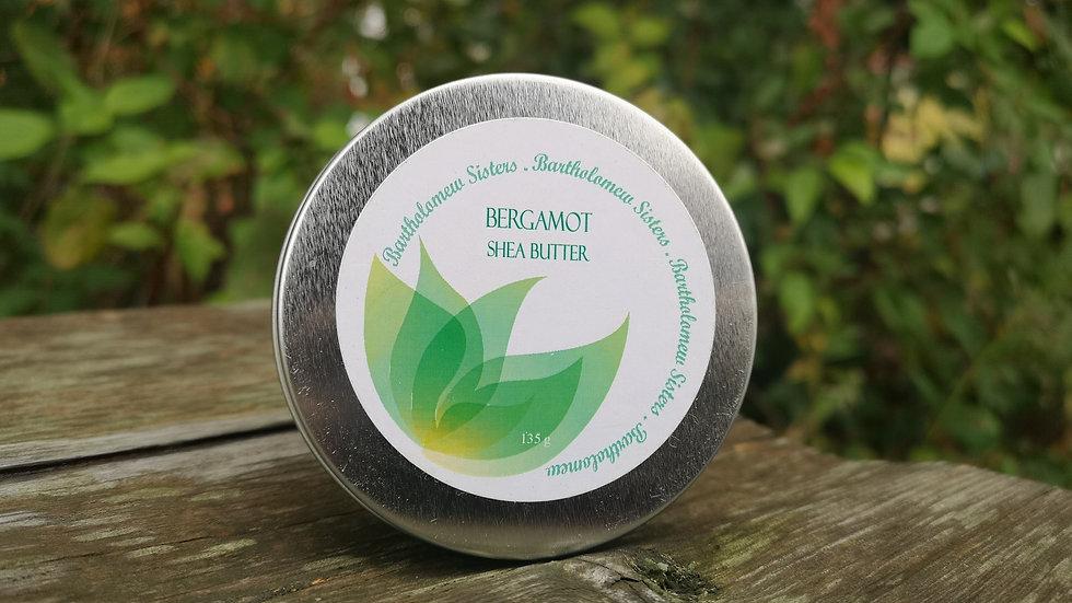 Bergamot Shea Body Butter - 4 oz