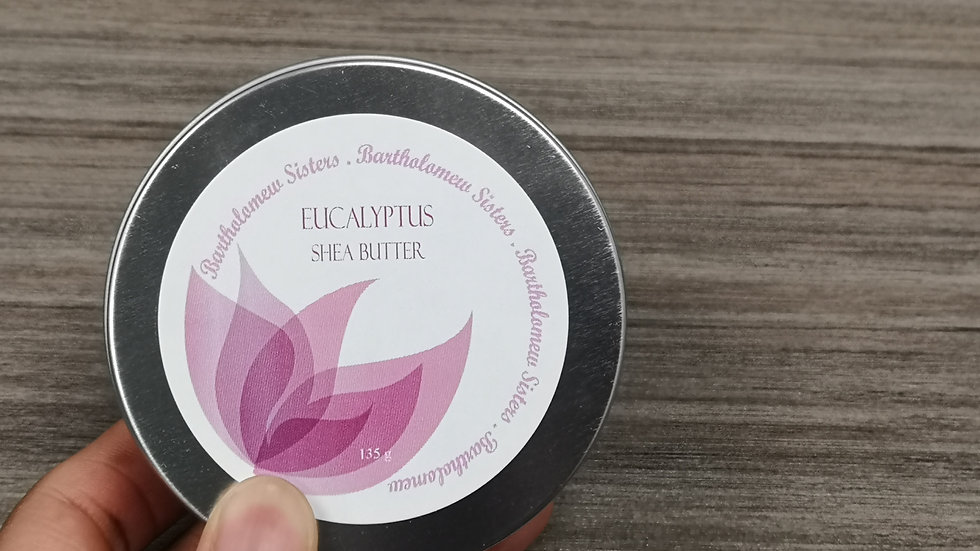 Eucalyptus Shea Butter - 4 oz