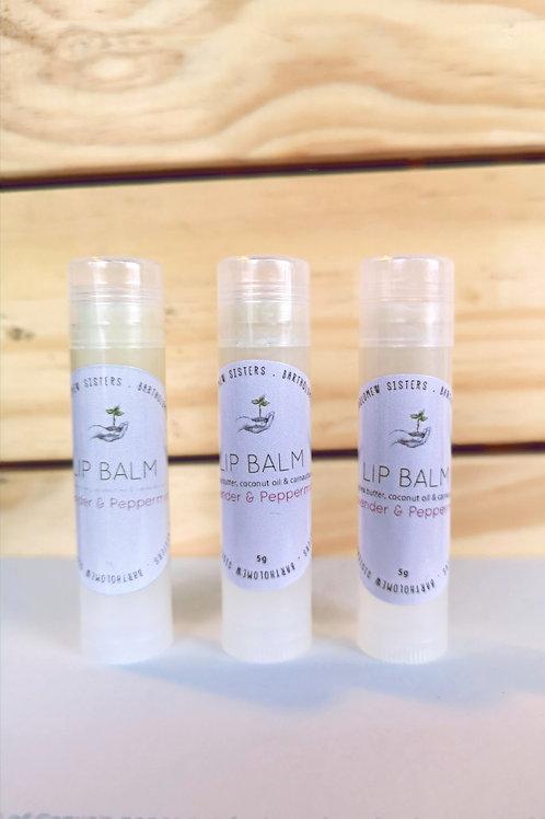 Lavender Peppermint Lip Balm - 0.18 oz