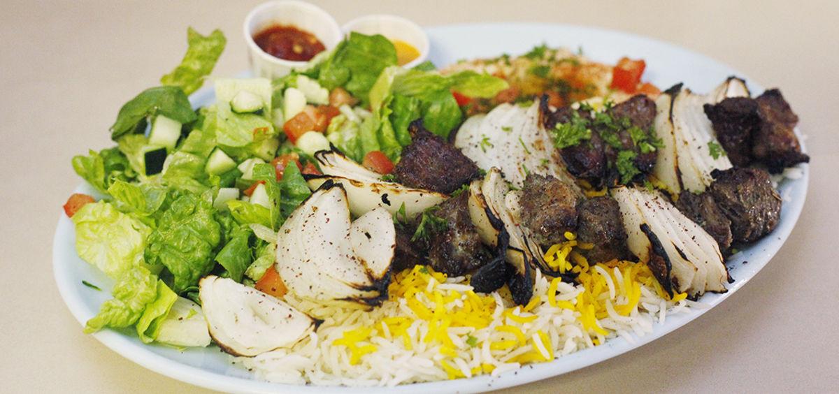 Lamb Kabab Plate