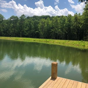 Pond and Dock Installation