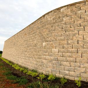 Reatining Wall Installastion in Purcellville, VA