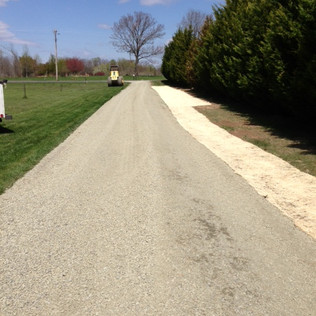 Driveway Repair and Ditch Cleanup