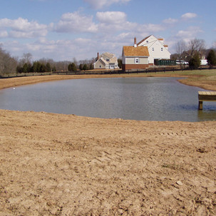 Pond Installation and Dock Creation