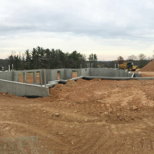 Basement Excavation and Pad Site Creation