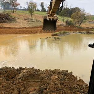 Pond Repair in Purcellville, VA