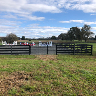 Equestrian Riding Arena Installation in Waterford, VA