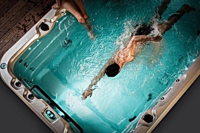 spa de nage au Domaine les 2 Monde